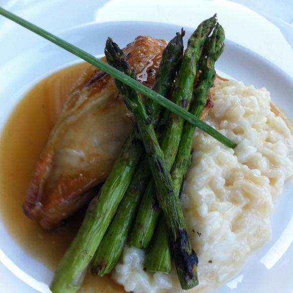Cider Glazed Chicken Breast - The Pointe Restaurant, Provincetown, MA