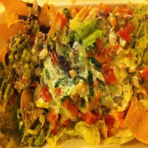 Vegetarian Nachos @ Cinco De Mayo