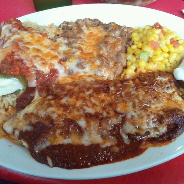Chicken Enchilada @ Gina's Mexican Cafe
