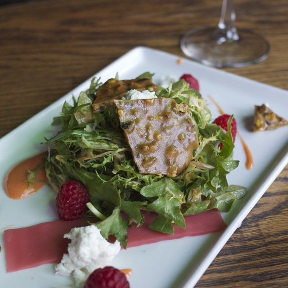 Frisée & Arugula Salad @ Coobah