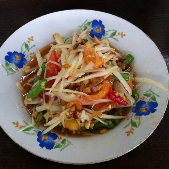 Som Tam Thai @ Mae Ubol Market