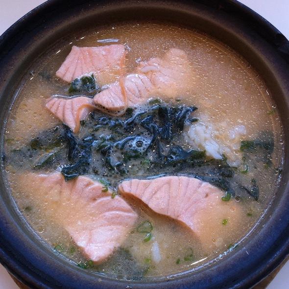 Salmon Miso Zosui @ Ichiban Sushi (AMK Hub)