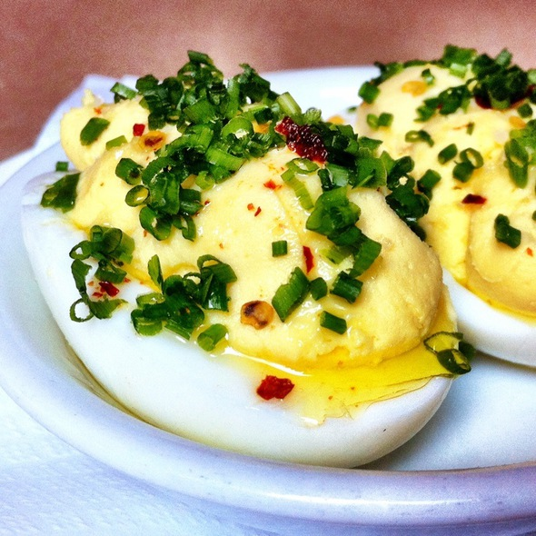 Deviled Eggs @ The Spotted Pig