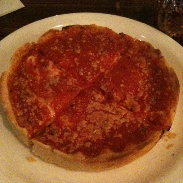 Chicago Deep Dish Cheese Pizza @ Lou Malnati's Pizzeria