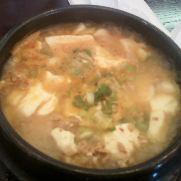 Soft Tofu Stew @ Mom's Tofu House