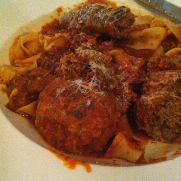 Italian Sausage Bolognese @ Poppy Hill Tuscan Kitchen