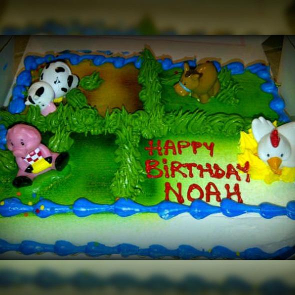 First Birthday Cake @ Crest Foods