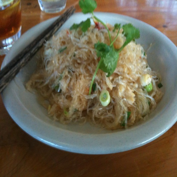 Crab with Cellophane Noodles @ The Slanted Door