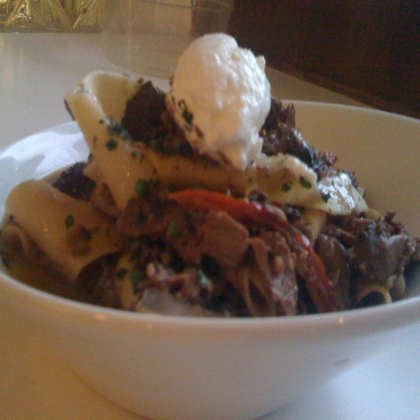 House Made Pappardelle @ Turtle Crossing