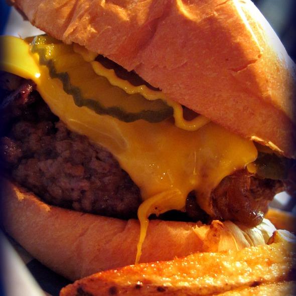 Burger @ Anchor Bar