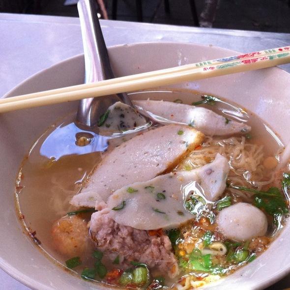 Fish Ball Noodle Soup @ Zaew