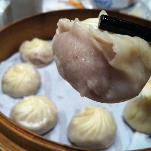 Steamed Yam Paste Mini Buns 芋泥小包 @ Din Tai Fung (Bishan Junction 8)