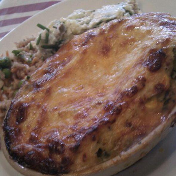 Lasagne @ Quay Coop Restaurant
