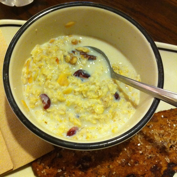 Old Fashioned Oatmeal @ Corner Bakery Cafe