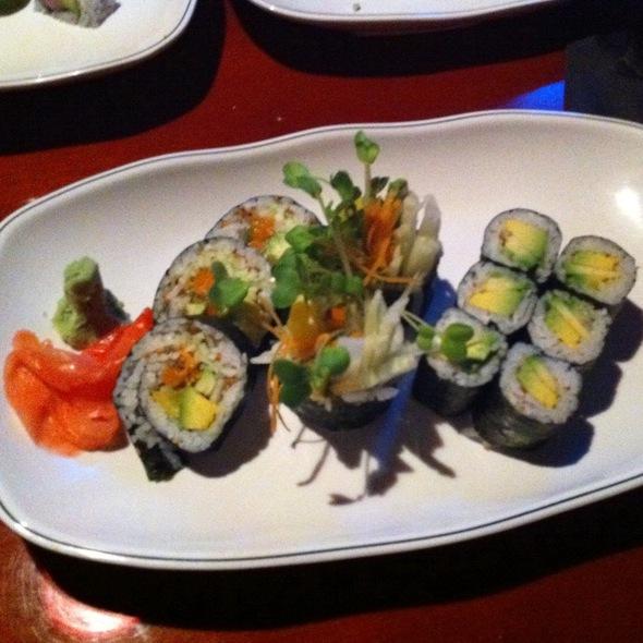 Vegetable Sushi @ Derek Chang's Koto Sushi Bar