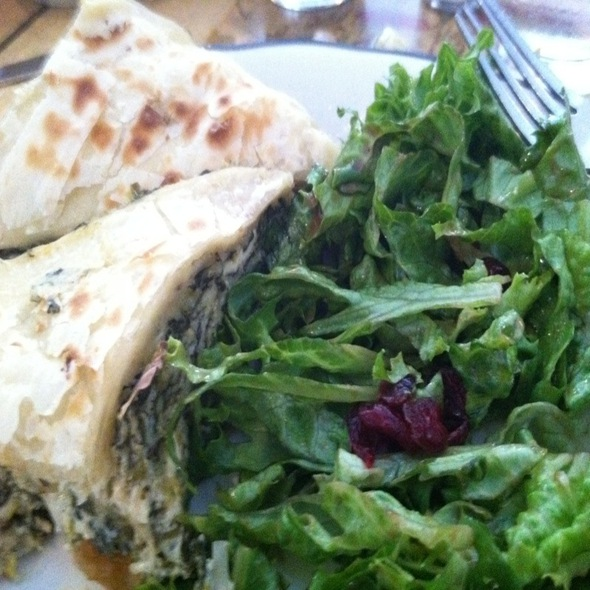 Spinach Pie @ Penelope Cafe