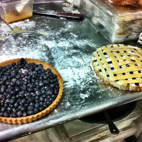 Blueberry And Tapioca Pie @ Atwood