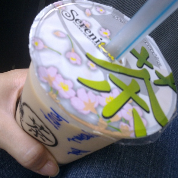 Hokkaido Milk Tea @ SereniTea