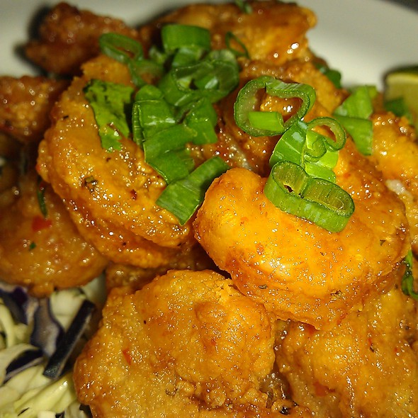 Sweet Chili Shrimp @ Shula's 347 Grill