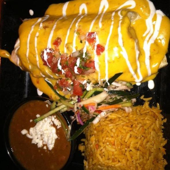 Shredded Pork Burrito - RJ Mexican Cuisine, Dallas, TX