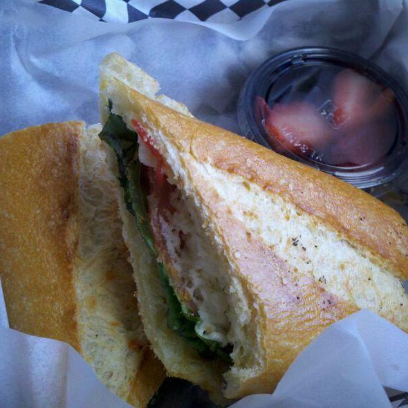 Caprese Salad Sandwich @ Urban Picnic