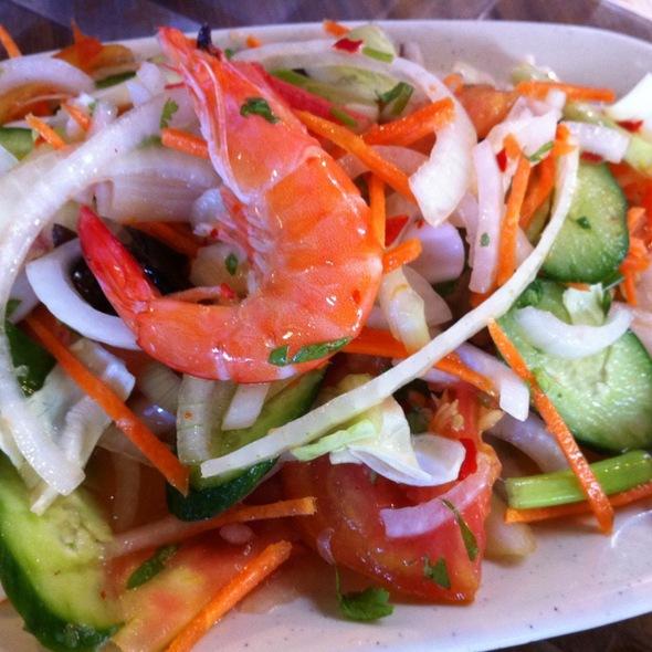 Seafood Salad @ 暹邏泰食