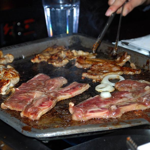 Kalbi - korean bbq @ Ginseng BBQ & Tofu House