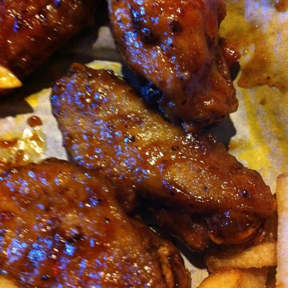 Jamaican Jerk Wings @ Buffalo Wild Wings