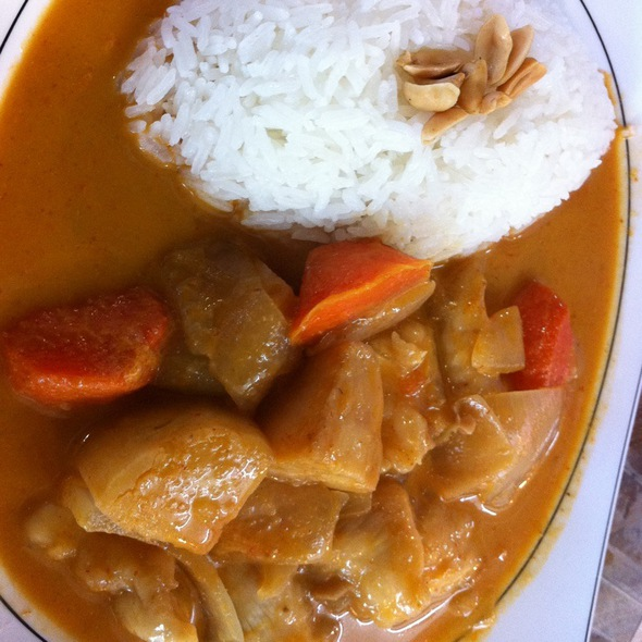 Coconut Curry Rice @ 暹邏泰食