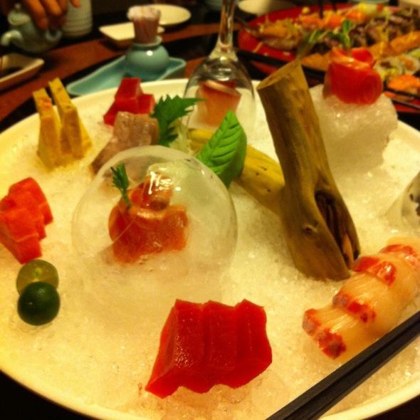 生魚片 @ 松屋日式料理
