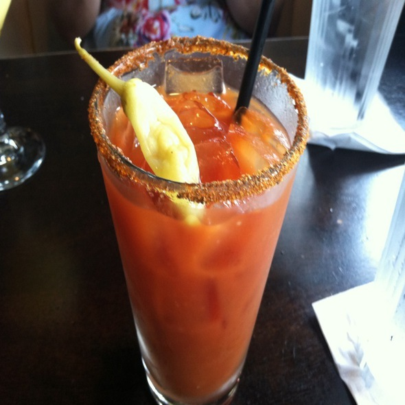 Bloody Mary @ No Frill Bar & Grill