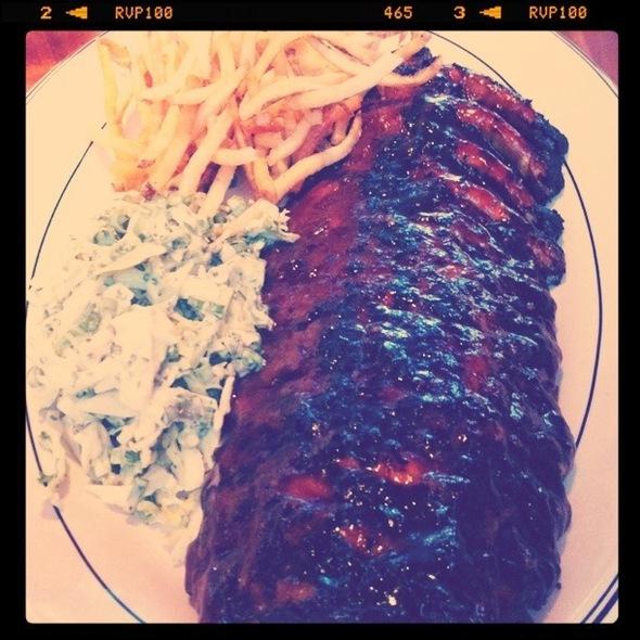 Barbecue Ribs @ Hillstone Restaurant