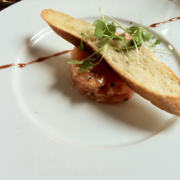 Salmon Avocato Tartar - 701 Restaurant, Washington, DC
