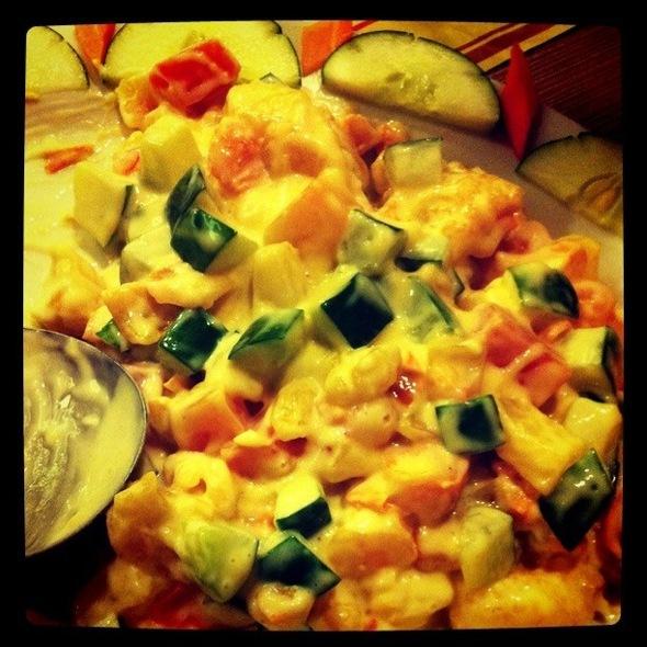 Aboy's Hot Seafood Salad @ Classic Savory