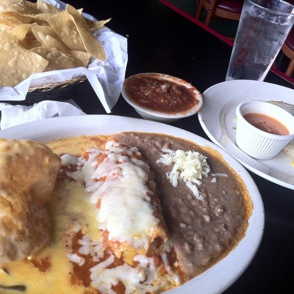 enchiladas @ Antonio's Tex Mex