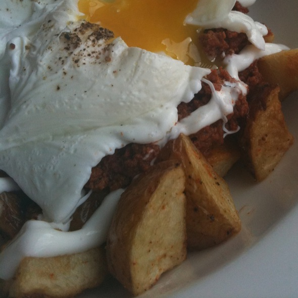 Chorizo Amd Poached Eggs @ Don Pisto's