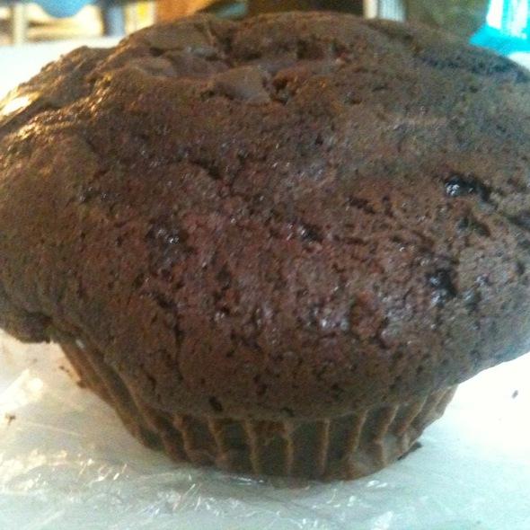 Giant Chocolate Muffins @ Hostelling International NY