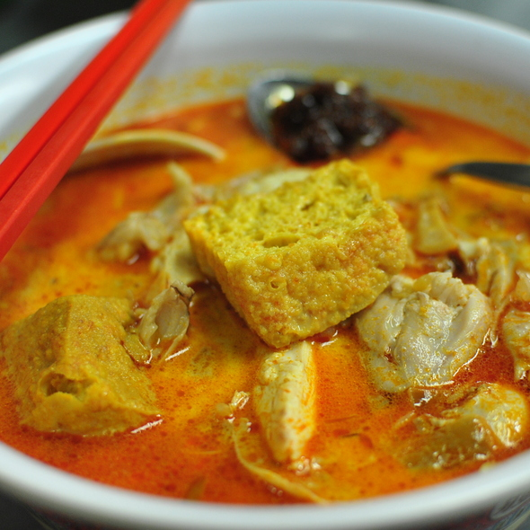 Chicken Laksa @ Malay Chinese Takeaway