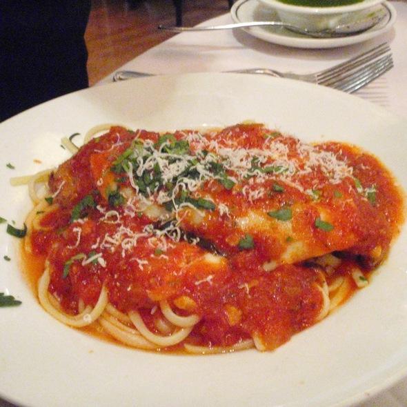Chicken Parmesan De Luca @ the victor cafe
