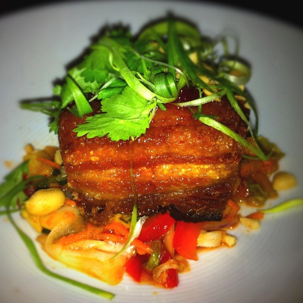 Crispy Sweet & Spicy Pork Belly @ Michael's Genuine Food & Drink