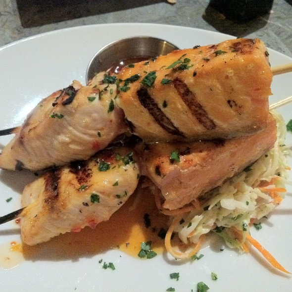 Seafood Kabobs @ Bar+Bistro @ The Arts Factory