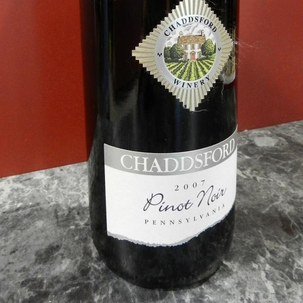 Pinot Noir @ Chaddsford Winery Tasting Room