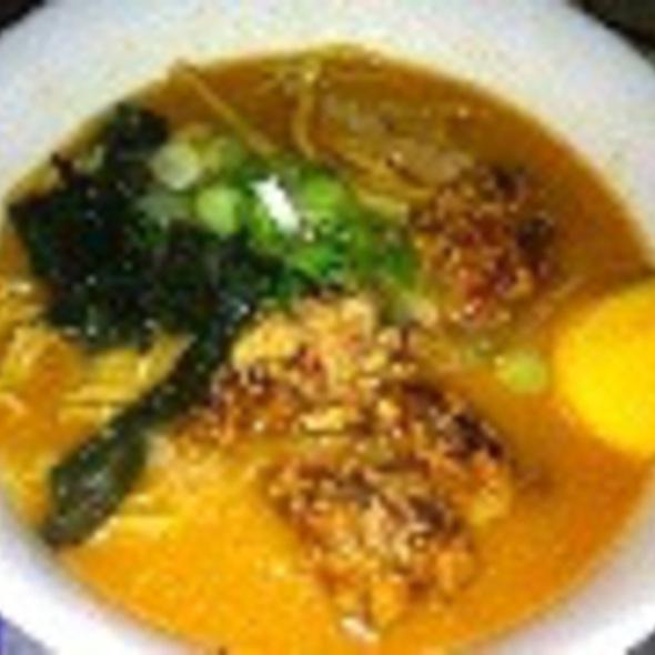 Spicy Fried Chicken Ramen @ Katana-ya