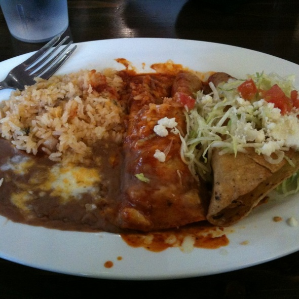 enchiladas @ Teresa's Mosaic Cafe