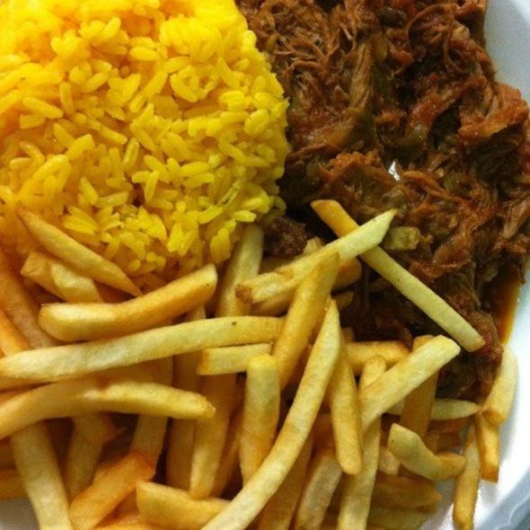 Ropa Vieja @ Mi Apa Latin Cafe