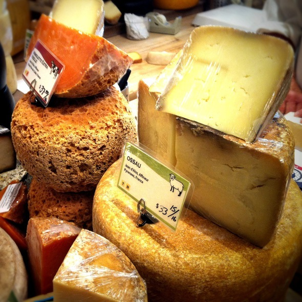 Assorted Cheeses @ Cowgirl Creamery Artisan Cheese Shop