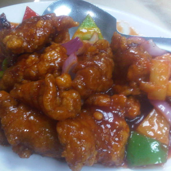 sweet and sour pork @ King Bee