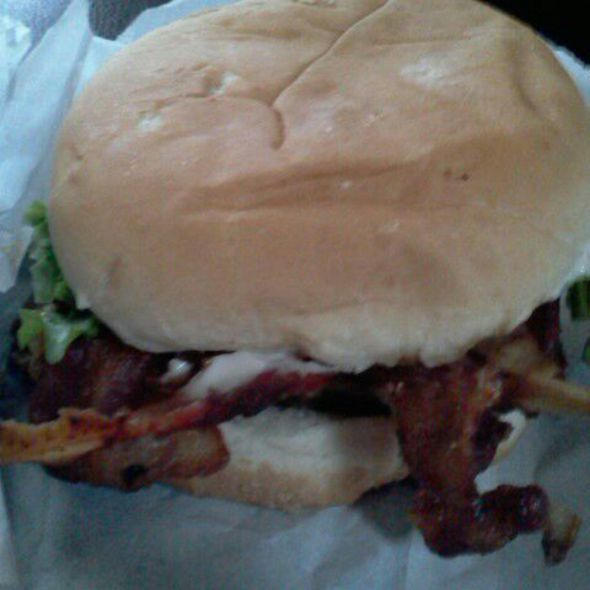 Bacon Cheeseburger @ Jerry's Curb Services