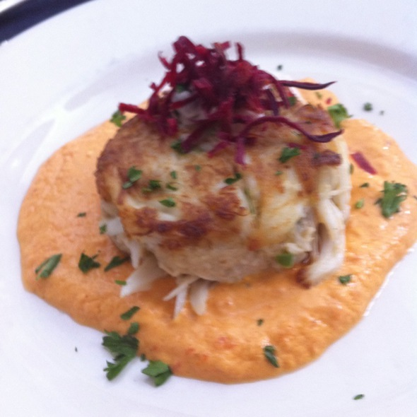 Pan Seared Crab Cake @ Grand Taverne Restaurant & Lounge