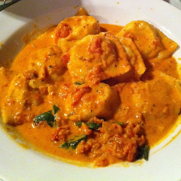 Lobster Ravioli @ Rinos Restaurant In East Boston